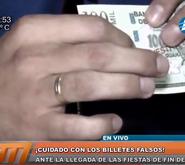 Sepa cómo identificar un billete falso