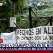 Pobladores no quieren a damnificados dentro del Parque Mburicaó