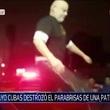 Una más de Paraguayo Cubas: Rompió parabrisas tras denuncia de coima
