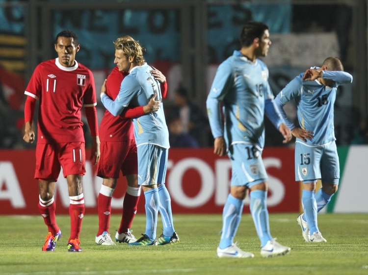 Imagenes de uruguay vs peru