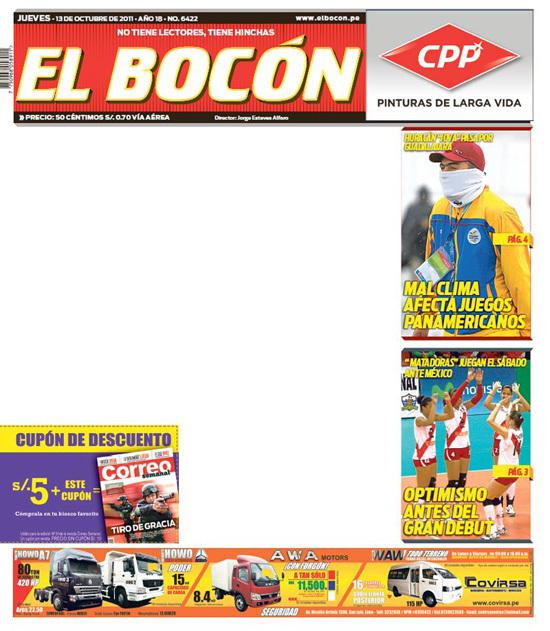 Diario Peruano Protesta Contra La Violencia Con Portada En Blanco