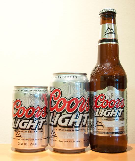 Con Su Novedoso Sistema De Activación De Frío, Coors Light Es Una Cerveza  Ligera Que Garantiza El Máximo Sabor Para El Consumidor.Foto  Paraguay.com/Victor ...