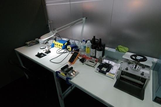 30ff5e76dd8 El centro cuenta con equipos para reparación de celulares. Gentileza.