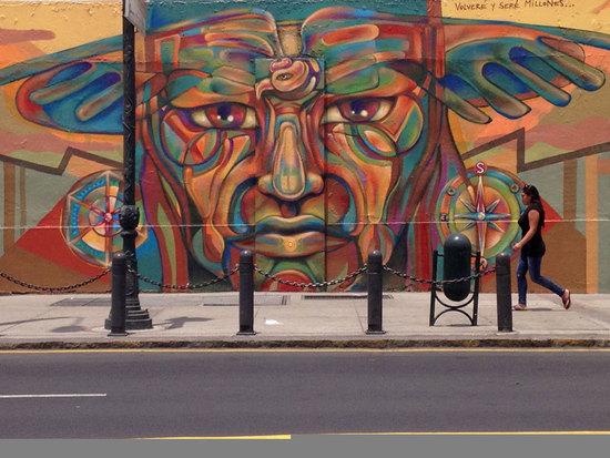 Resultado de imagen para graffiti en asuncion paraguay