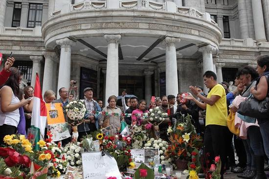 Cenizas de Juan Gabriel llegan a Bellas Artes