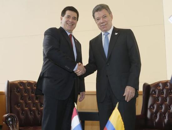 Presidente Santos hizo entrega formal de acuerdo de paz en la ONU
