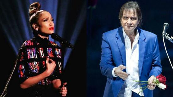 Roberto Carlos y Jennifer López grabarán una canción