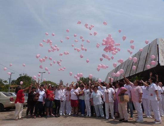 Se suma IMSS Chiapas a las acciones contra el cáncer de mama