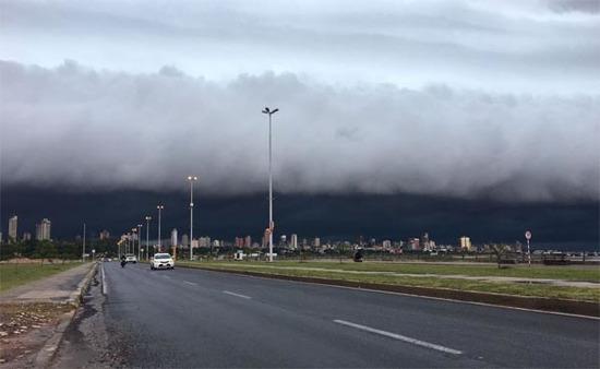 Alerta de tormenta y posible caída de granizos para 5 departamentos