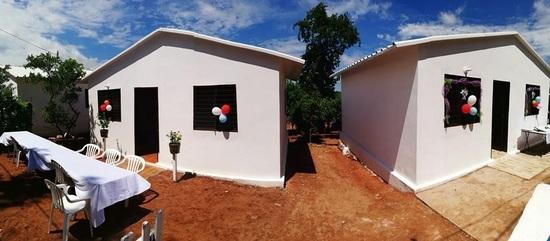 A o nuevo casa nueva familias recibieron viviendas sociales - Casa nueva viviendas ...