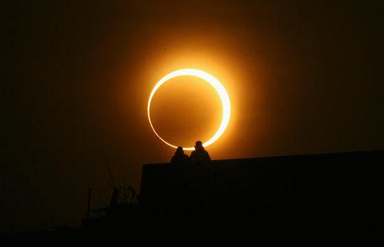 Los eclipses de luna y sol del 2017