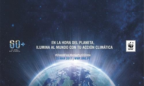 La Hora del Planeta será este 25 de marzo