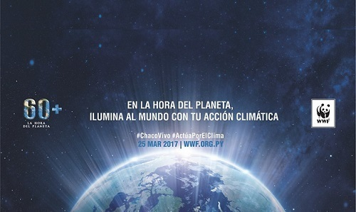 Apaga la luz este sábado durante la Hora del Planeta