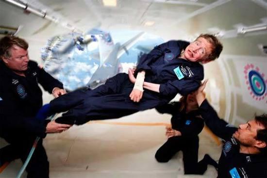 Stephen Hawking podrá ir al espacio