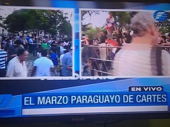 Policía mató a un manifestante durante disturbios en Paraguay