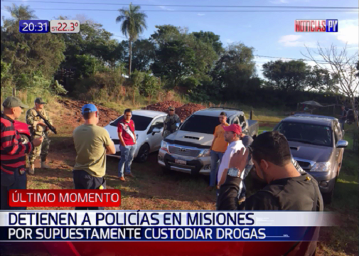 Decomisan en Paraguay camión con 8 toneladas de marihuana