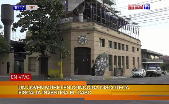 Muerte en discoteca de Asunción — PARAGUAY