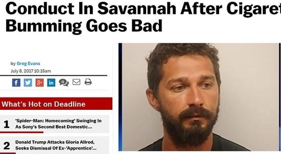 Actor es arrestado en Georgia donde filmaba película