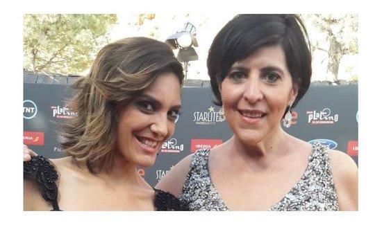 Angie Cepeda y Juana Acosta en los Premios Platino 2017 por TNT