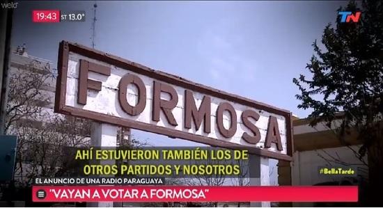 Alertan que desde una radio de Paraguay llaman a votar en Formosa