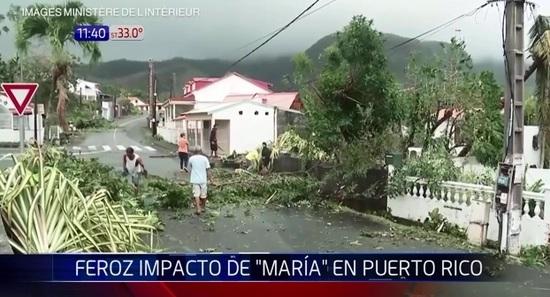 Puerto Rico: La presa de Guajataca resulta dañada por el huracán María