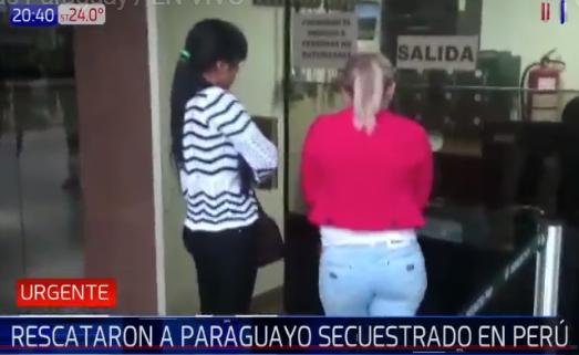 Rescatan con vida a un paraguayo presuntamente secuestrado en Perú