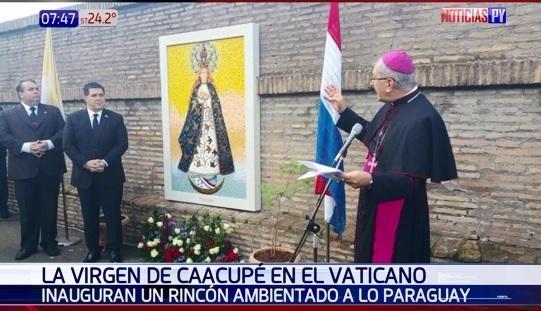 La paraguaya del Vaticano — Virgencita Azul