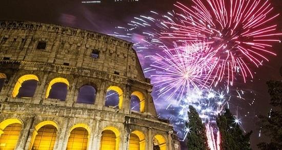 Capital italiana blindada para celebrar el advenimiento del Nuevo Año
