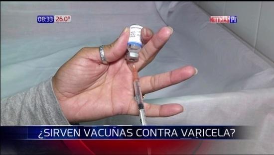 Médicos solicitan cambio de vacuna contra varicela