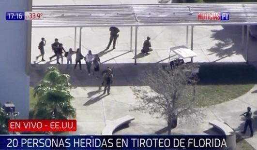 Identifican al autor del tiroteo en Florida
