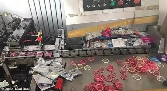 Desarticulan una red de falsificación de condones en China — Usados y reciclados