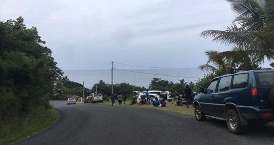 La población obedeció la orden de evacuación y subieron a zonas altas