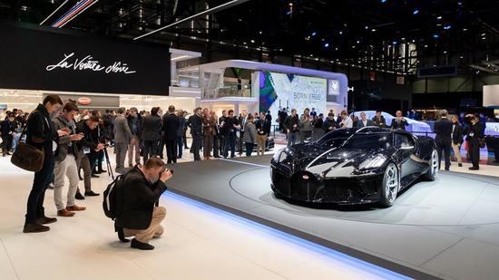 Bugatti presenta el nuevo coche más caro del mundo